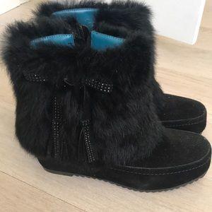 Beautiful soft Furry booties